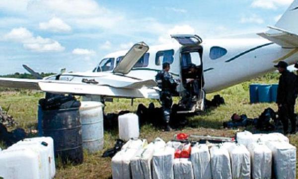 Escenario boliviano. Avioneta ligera que utilizaba el peruano para transportar cocaína. Fuente: La República.