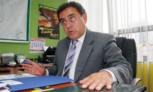 El presidente regional de Huánuco, Luis Picón, aspirante a la reelección, será investigado por presunto narcotráfico. Fuente: La República.